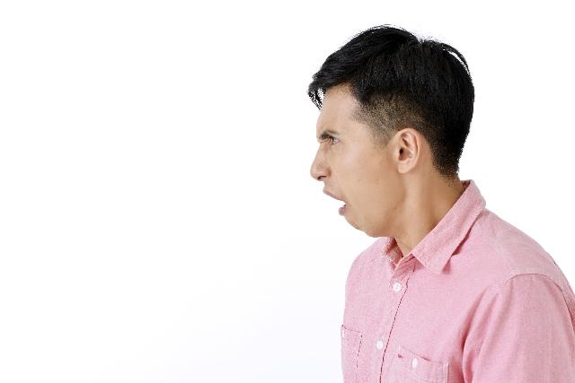 加害者の態度・怒りのイメージ