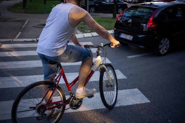 交通事故・自転車事故・歩行者事故のイメージ