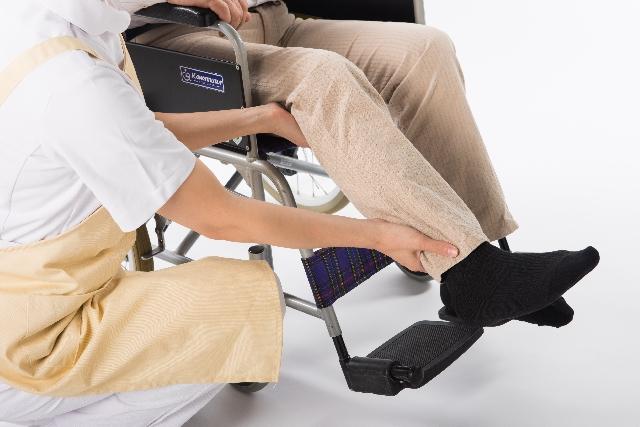 下肢(足)の交通事故後遺障害のイメージ